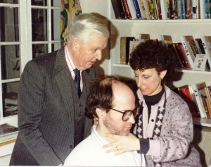 Alice in her final term of training with Walter and Dilys Carrington